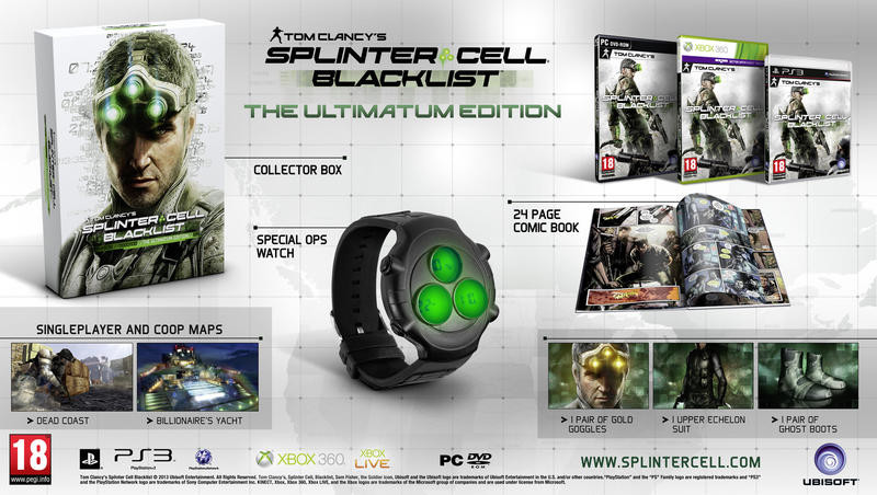 Tom Clancys Splinter Cell Blacklist (Ultimate Edition)