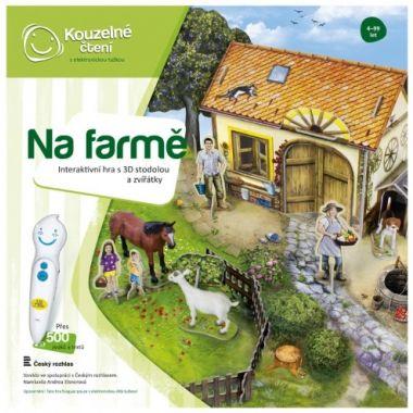 Albi Kouzelné čtení Hra Na farmě 3D