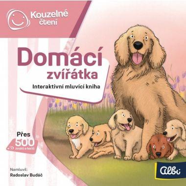 Albi Kouzelné čtení Minikniha Domácí zvířátka