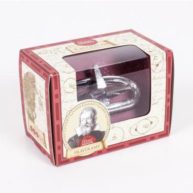 ALBI Kovový hlavolam Great Minds - Galileo