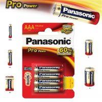 Mikrotužkové Alkalická baterie AAA Panasonic Pro Power LR03 - 4ks