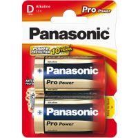 Alkalická baterie D Panasonic Pro Power LR20 2ks 09834
