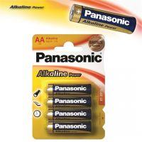 Alkalická baterie tužková AA Panasonic Alkaline Power - 4ks (12036)