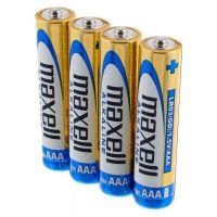 Alkalické mikrotužkové baterie MAXELL LR03 4S AAA, 4ks (35044014)