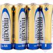 Alkalické tužkové baterie MAXELL LR6 4S, AA, 4ks (35044015)