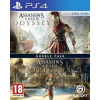 Assassins Creed: Odyssey + Origins (Double Pack) (PS4)