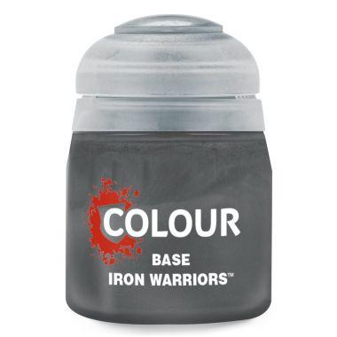 Barva Citadel Base: Iron Warriors - 12ml