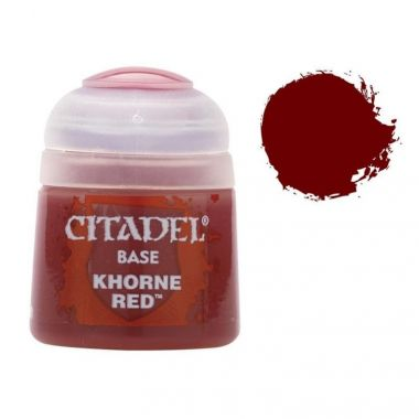Barva Citadel Base: Khorne Red - 12ml