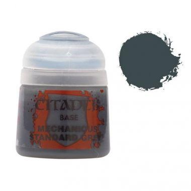 Barva Citadel Base: Mechanicus Standard Grey - 12ml