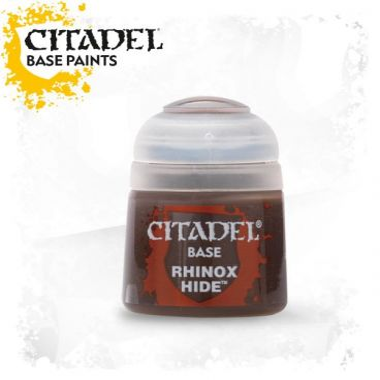 Barva Citadel Base: Rhinox Hide - 12ml