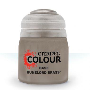 Barva Citadel Base: Runelord Brass - 12ml