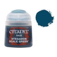 Barva Citadel Base: Stegadon Scale Green - 12ml