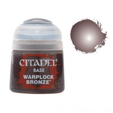 Barva Citadel Base: Warplock Bronze - 12ml