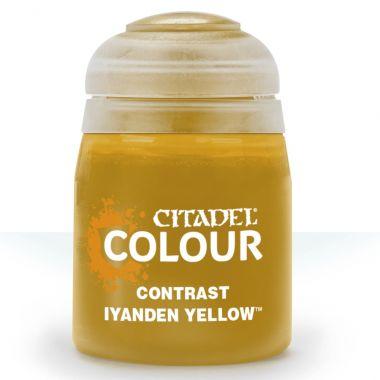 Barva Citadel Contrast: Iyanden Yellow - 18ml