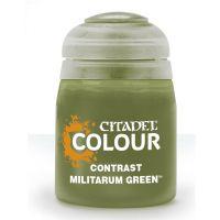 Barva Citadel Contrast: Militarum Green - 18ml
