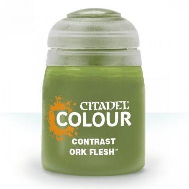 Barva Citadel Contrast: Ork Flesh - 18ml