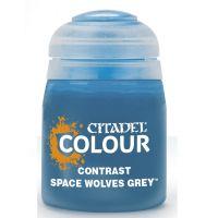 Barva Citadel Contrast: Space Wolves Grey - 18ml