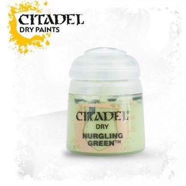 Barva Citadel Dry: Nurgling Green - 12ml