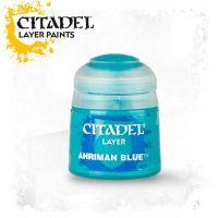 Barva Citadel Layer: Ahriman Blue - 12ml