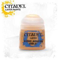 Barva Citadel Layer: Auric Armour Gold - 12ml