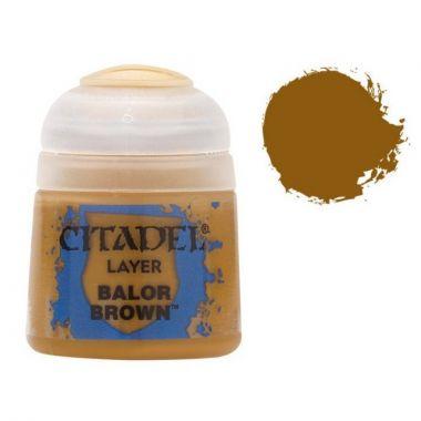 Barva Citadel Layer: Balor Brown - 12ml
