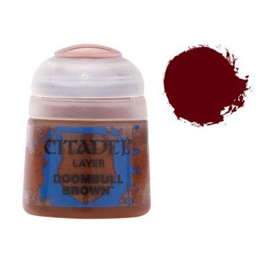 Barva Citadel Layer: Doombull Brown - 12ml