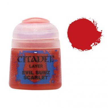Barva Citadel Layer: Evil Sunz Scarlet - 12ml