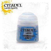 Barva Citadel Layer: Fenrisian Grey - 12ml