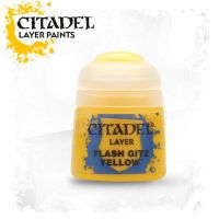 Barva Citadel Layer: Flash Gitz Yellow - 12ml