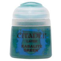 Barva Citadel Layer: Kabalite Green - 12ml