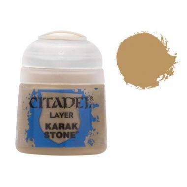 Barva Citadel Layer: Karak Stone - 12ml