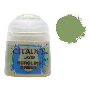 Barva Citadel Layer: Nurgling Green - 12ml