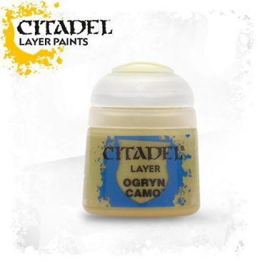 Barva Citadel Layer: Ogryn Camo - 12ml