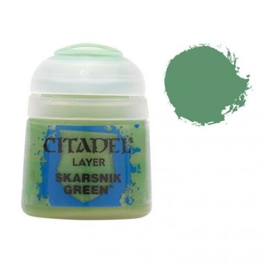 Barva Citadel Layer: Skarsnik Green - 12ml
