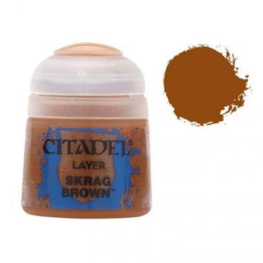 Barva Citadel Layer: Skrag Brown - 12ml