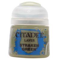 Barva Citadel Layer: Straken Green - 12ml