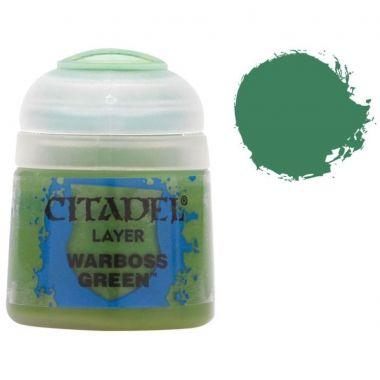 Barva Citadel Layer: Warboss Green - 12ml