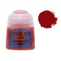 Barva Citadel Layer: Wazdakka Red - 12ml
