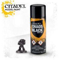 Barva ve spreji Citadel Chaos Black - 400ml
