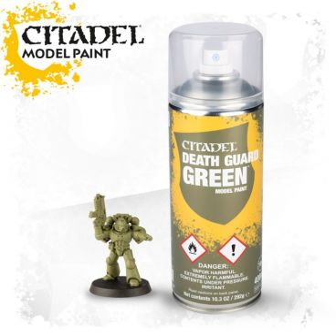 Barva ve spreji Citadel Death Guard Green - 400ml