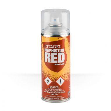 Barva ve spreji Citadel Mephiston Red - 400ml