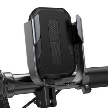 Baseus Armor držák telefonu na kolo a koloběžku (SUKJA-01) černý