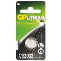 Baterie lithiová GP CR2032, blistr 1ks (1042203211)