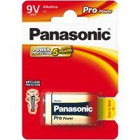 Baterie Panasonic 6LR61 1BP 9V Pro Power alk