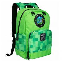Batoh Minecraft - Miners Society, zelený