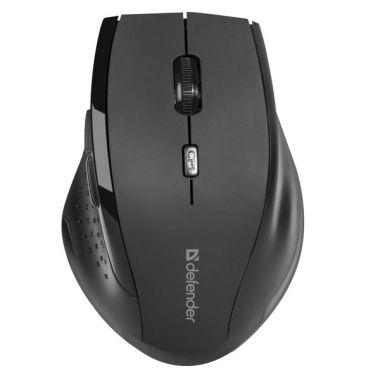 Defender Myš Accura MM-365, černá, bezdrátová (PC)