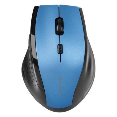 Defender Myš Accura MM-365, černo-modrá, bezdrátová (PC)