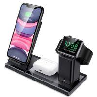 Bezdrátová nabíječka pro iPhone, Apple Watch a AirPods - ESR, 3in1 Wireless Station 3C07200130101