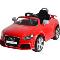 Buddy Toys BEC 7121 Elektrické auto Audi TT, červená