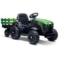 Buddy Toys BEC 8211 Elektrický traktor s vozíkem FARM trailer